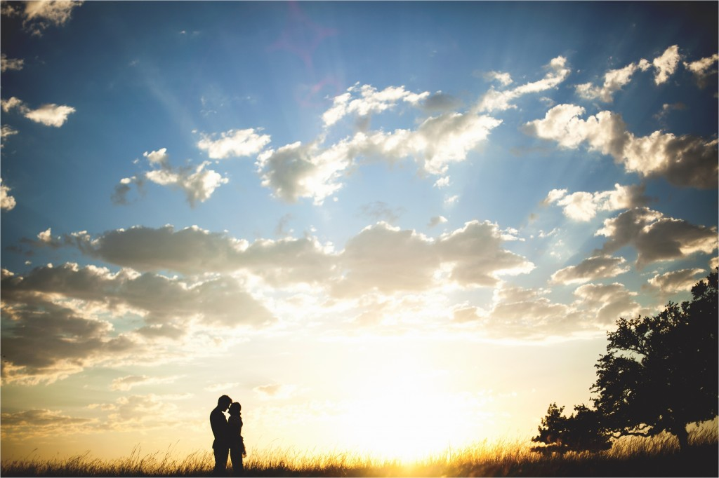 Silhouette :: Texas Sunsets | North Texas Wedding Photographer | Best of 2013 | Simple Artistic Unique Wedding Photography by Rachel Meagan Photography