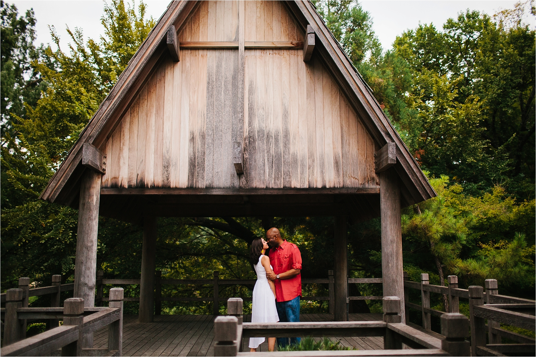 ... Enagement Session At The Japanese Rose Garden _ Fort Worth Botanical  Gardens _ Images By North ...
