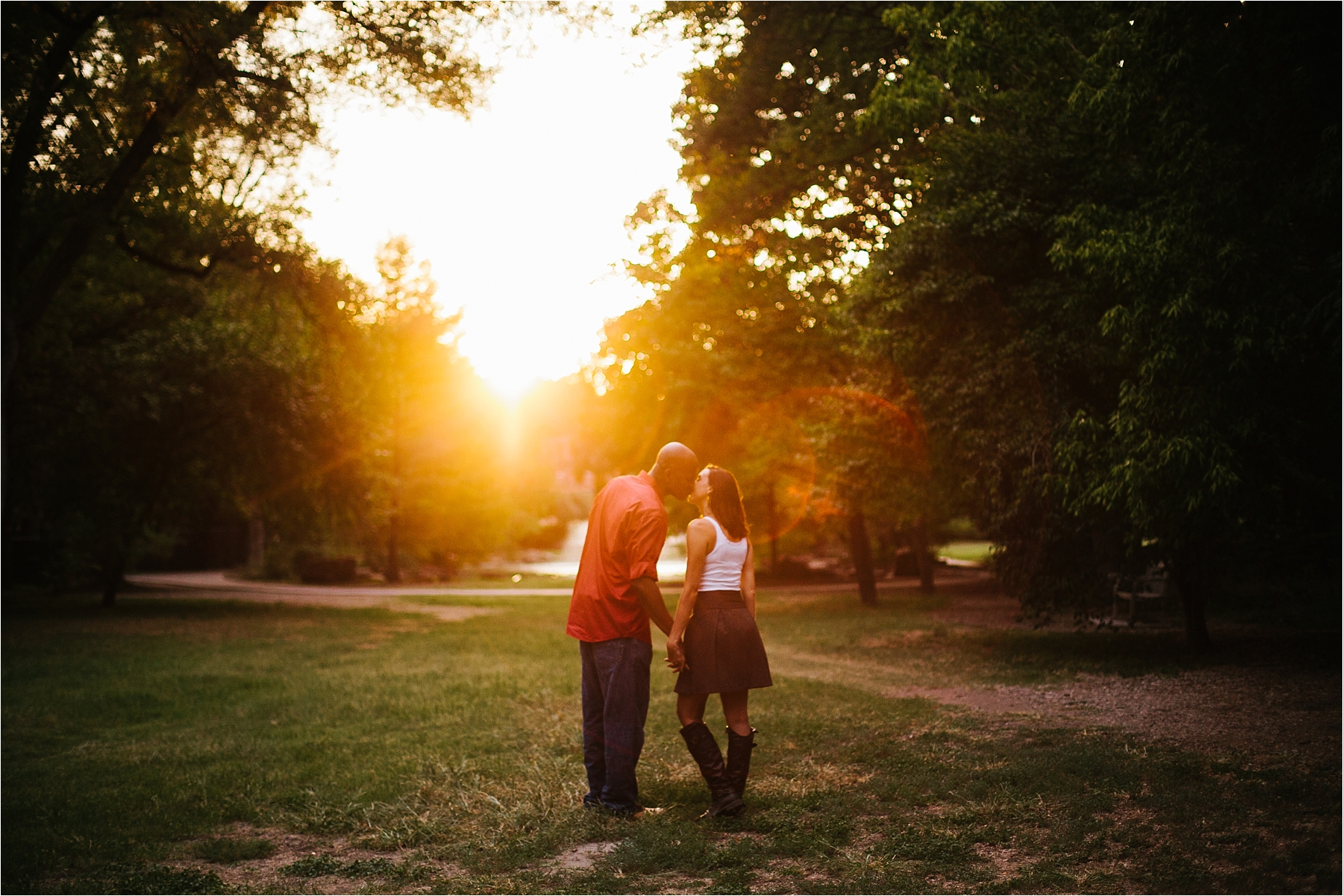 Kate+Josh :: a fort worth botanical gardens couples session - Rachel ...