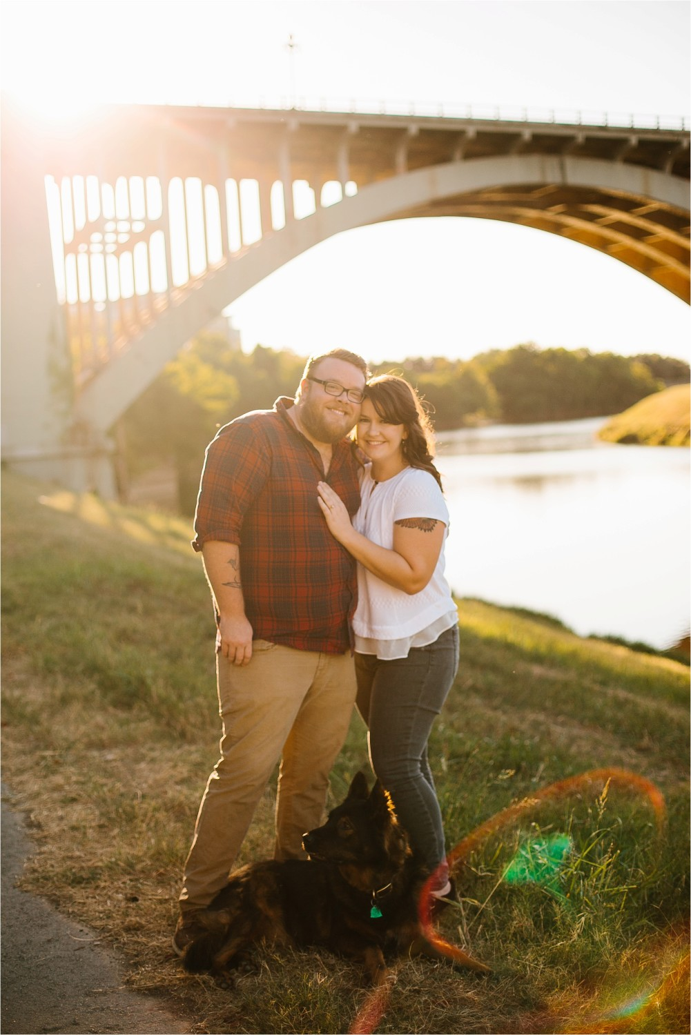 Cat + Wade __ a fort worth engagement session by North Texas Wedding Photographer Rachel Meagan Photography _ 01