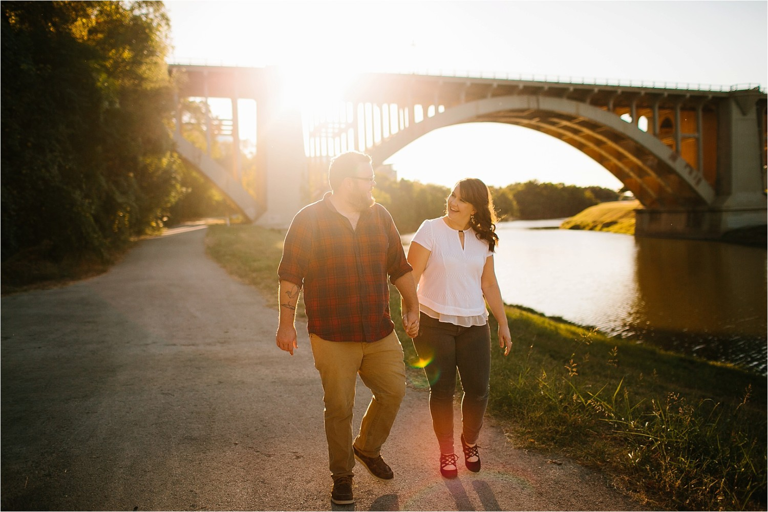 Cat + Wade || a fort worth engagement session