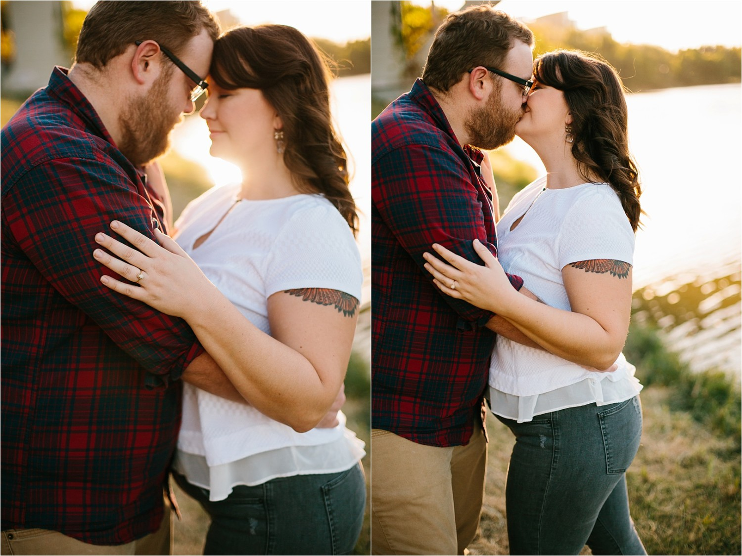 Cat + Wade __ a fort worth engagement session by North Texas Wedding Photographer Rachel Meagan Photography _ 07