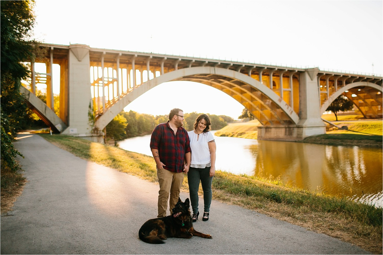 Cat + Wade __ a fort worth engagement session by North Texas Wedding Photographer Rachel Meagan Photography _ 08