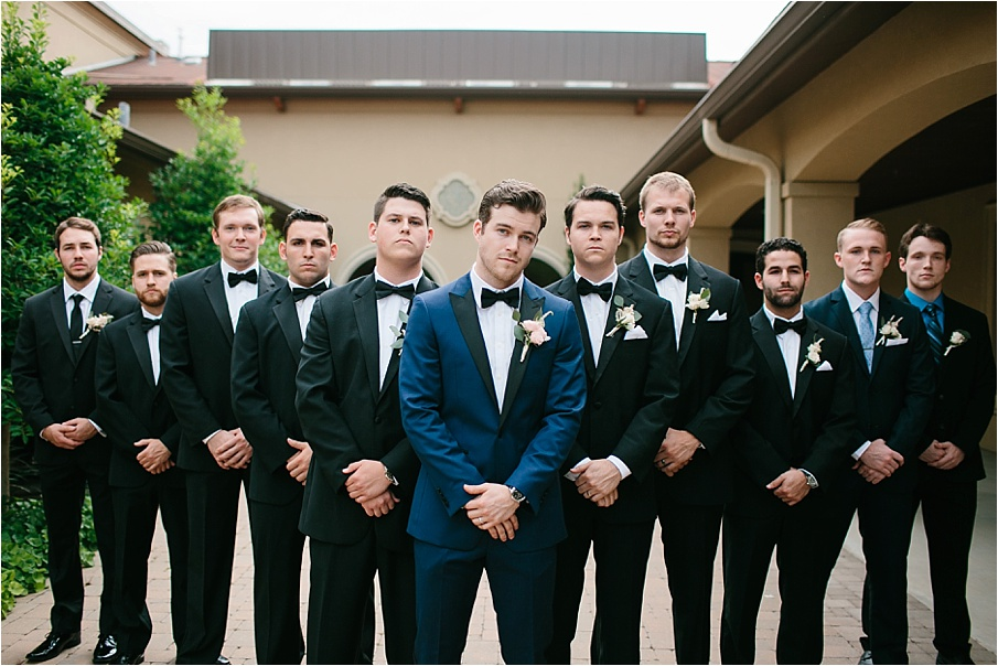 David Mikayla A Blush Pink Navy Blue And Gold Inspired Wedding At