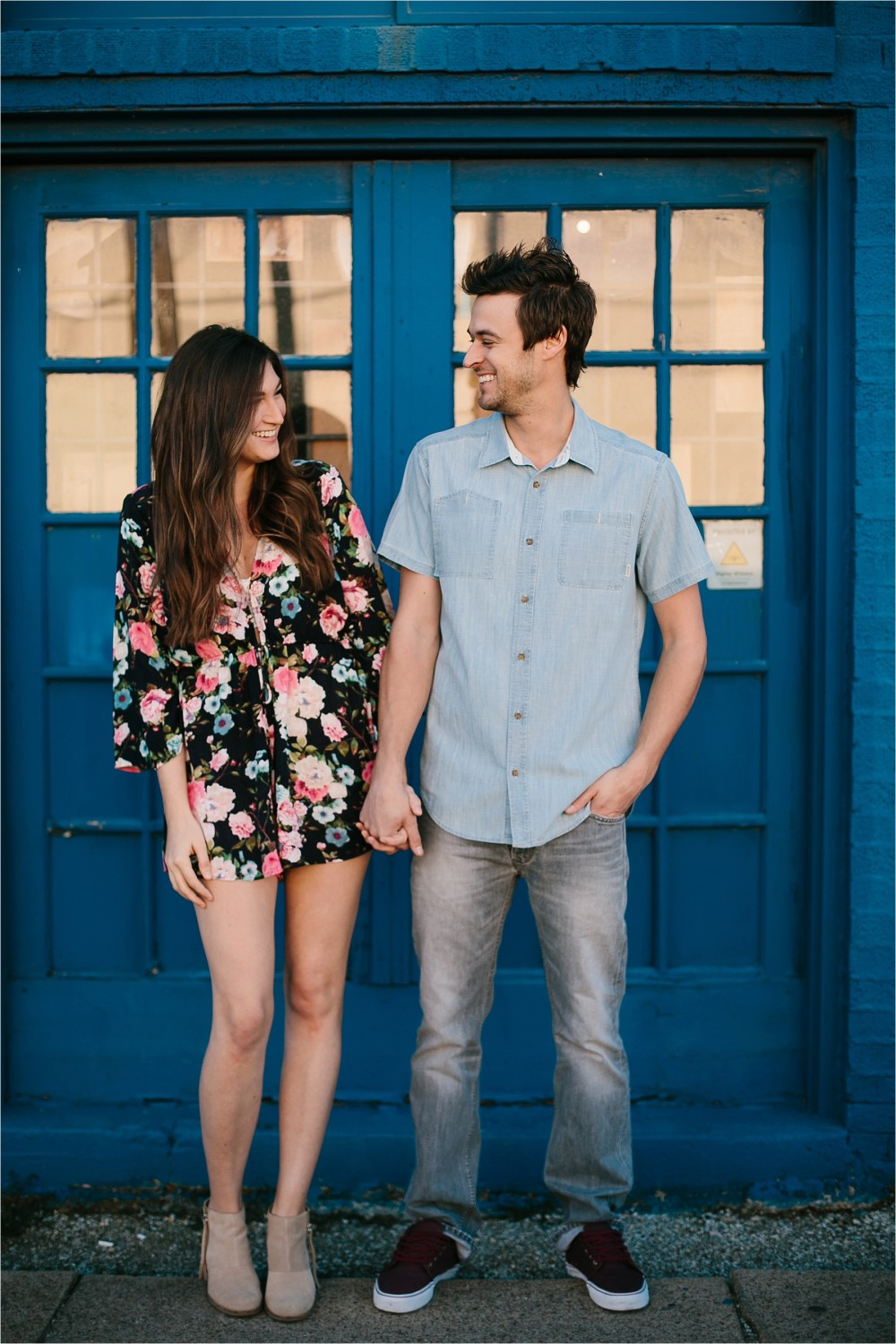 Bekah + Michael __ a deep ellum engagement session by North Texas Wedding Photographer Rachel Meagan Photography _ 01