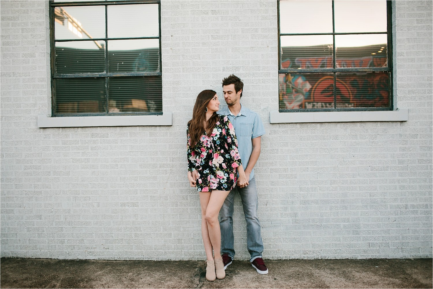 Bekah + Michael __ a deep ellum engagement session by North Texas Wedding Photographer Rachel Meagan Photography _ 16