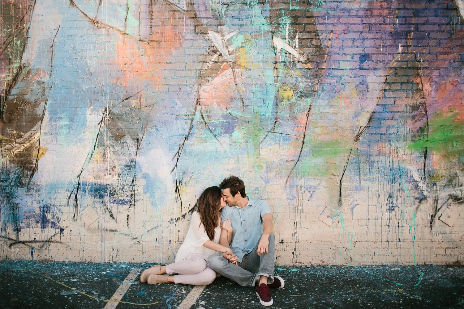 Bekah + Michael __ a deep ellum engagement session by North Texas Wedding Photographer Rachel Meagan Photography _ 20