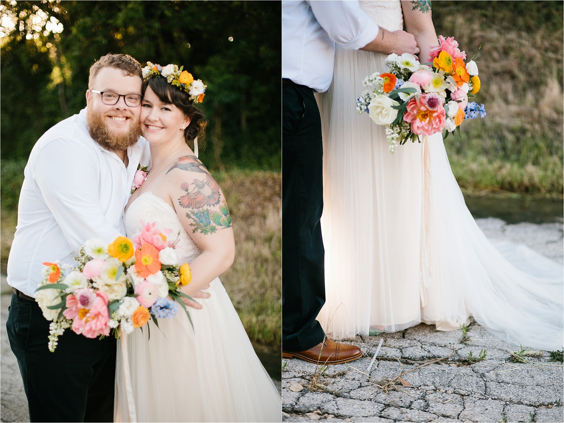 TX Cat Wade A Bright Colorful Wedding At Artspace 111 In Fort Worth