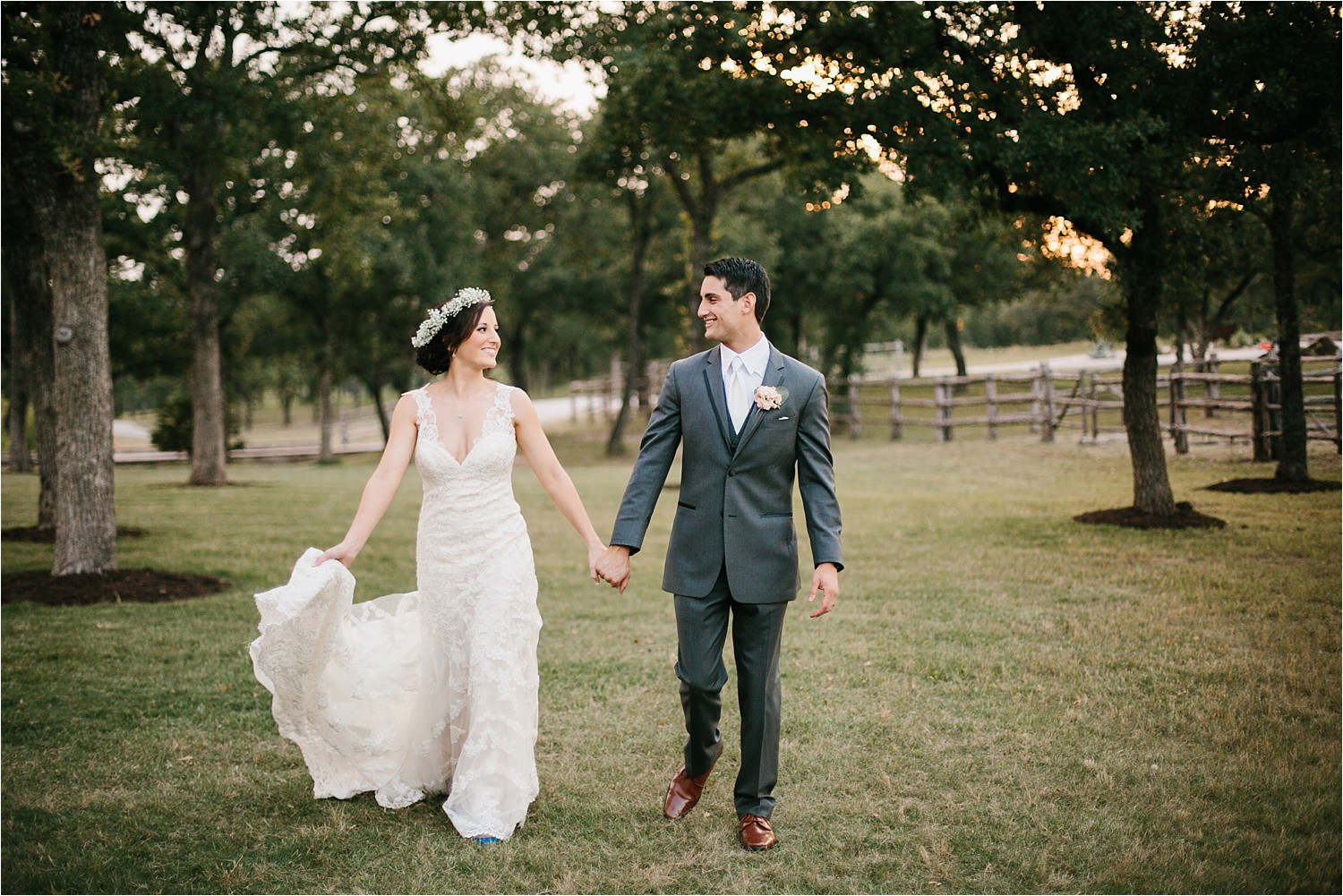 Katelyn + Austin || an elegant wedding at Oak Knoll Ranch