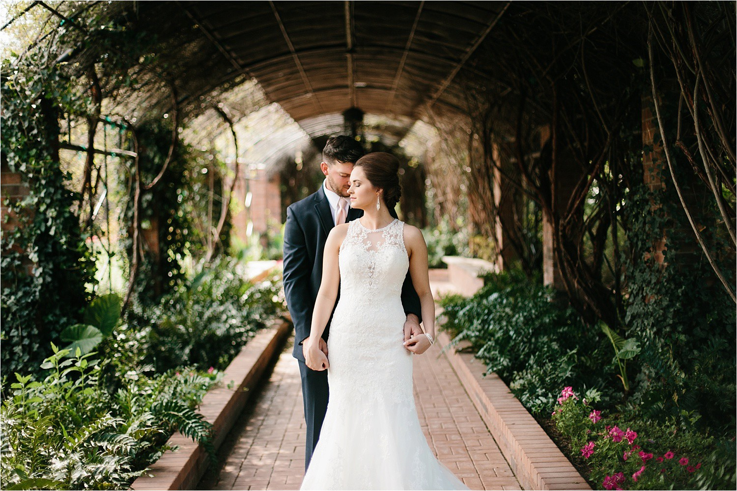 Morgan + Sam || a clark gardens weddding