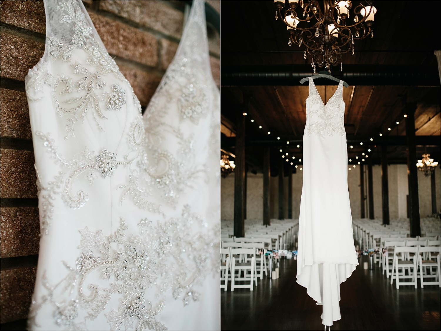 Holly + Jordan __ a black, gold, and greenery organic wedding at The Phoenix Ballroom in Waco, TX by North Texas Wedding Photographer Rachel Meagan Photography __ 01