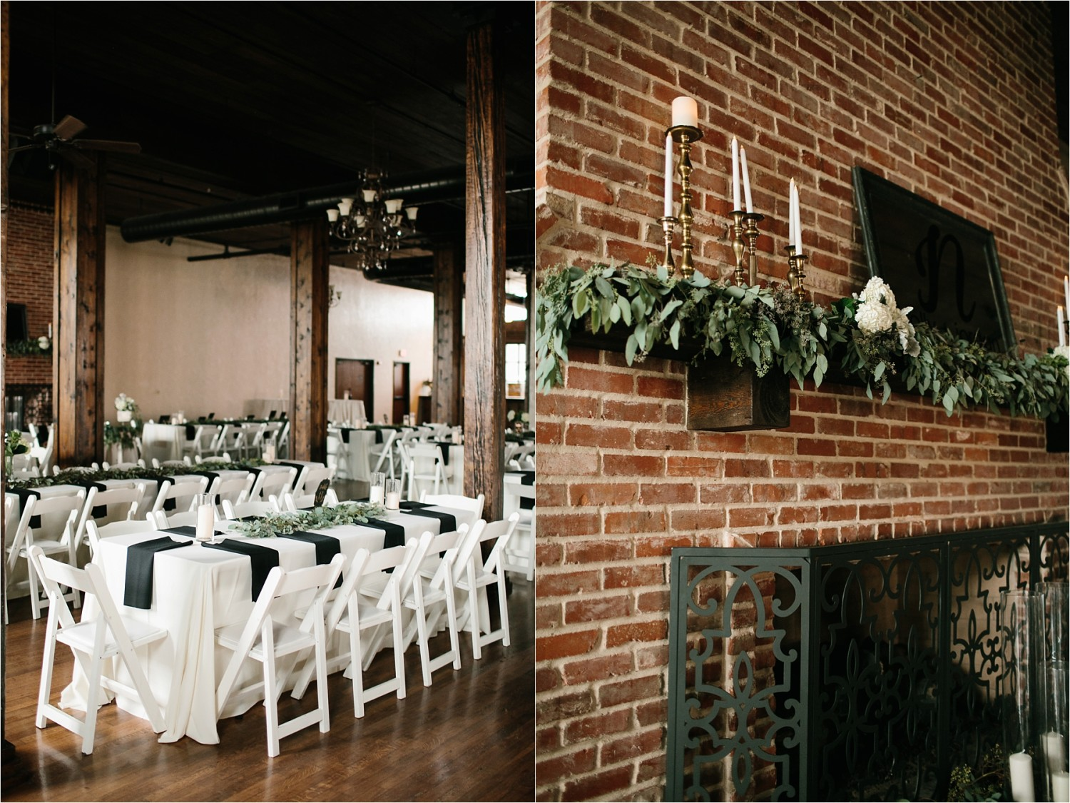 Holly + Jordan __ a black, gold, and greenery organic wedding at The Phoenix Ballroom in Waco, TX by North Texas Wedding Photographer Rachel Meagan Photography __ 12