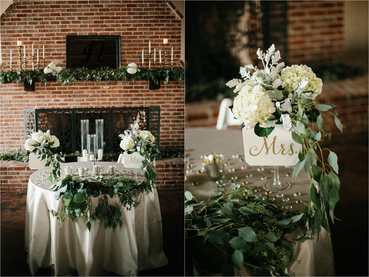 Holly + Jordan __ a black, gold, and greenery organic wedding at The Phoenix Ballroom in Waco, TX by North Texas Wedding Photographer Rachel Meagan Photography __ 14