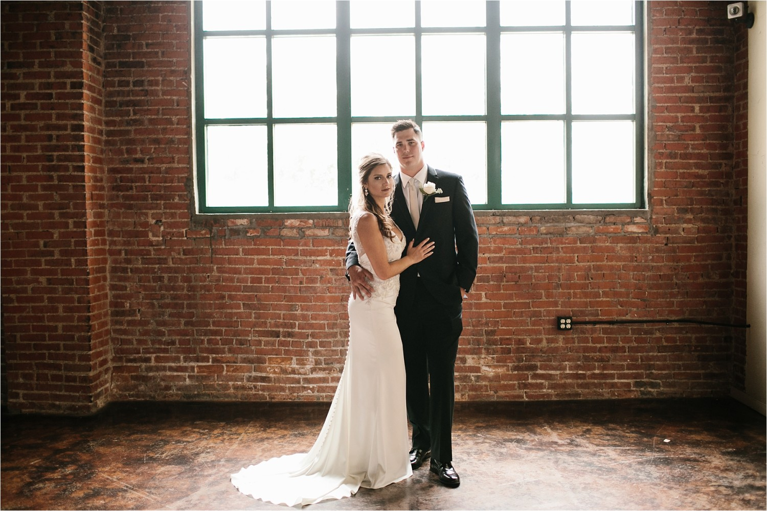 Holly + Jordan __ a black, gold, and greenery organic wedding at The Phoenix Ballroom in Waco, TX by North Texas Wedding Photographer Rachel Meagan Photography __ 32