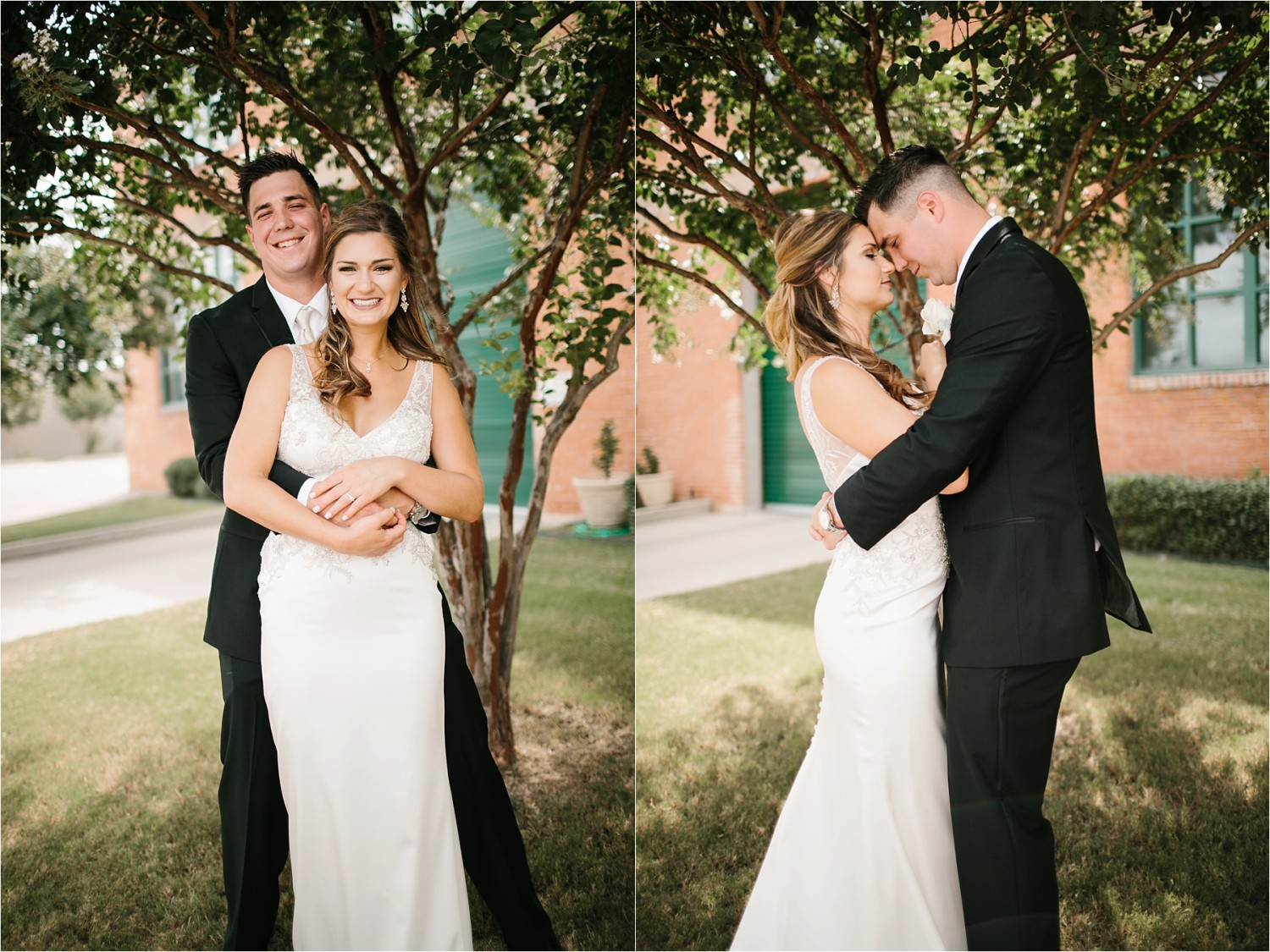 Holly + Jordan __ a black, gold, and greenery organic wedding at The Phoenix Ballroom in Waco, TX by North Texas Wedding Photographer Rachel Meagan Photography __ 41