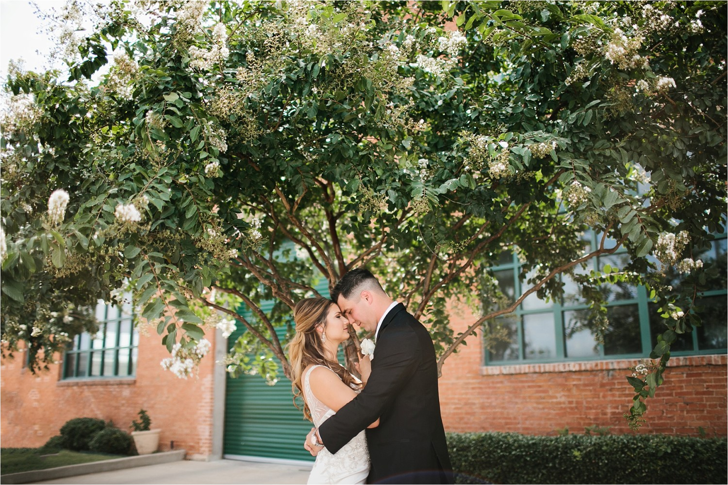 Holly + Jordan __ a black, gold, and greenery organic wedding at The Phoenix Ballroom in Waco, TX by North Texas Wedding Photographer Rachel Meagan Photography __ 42