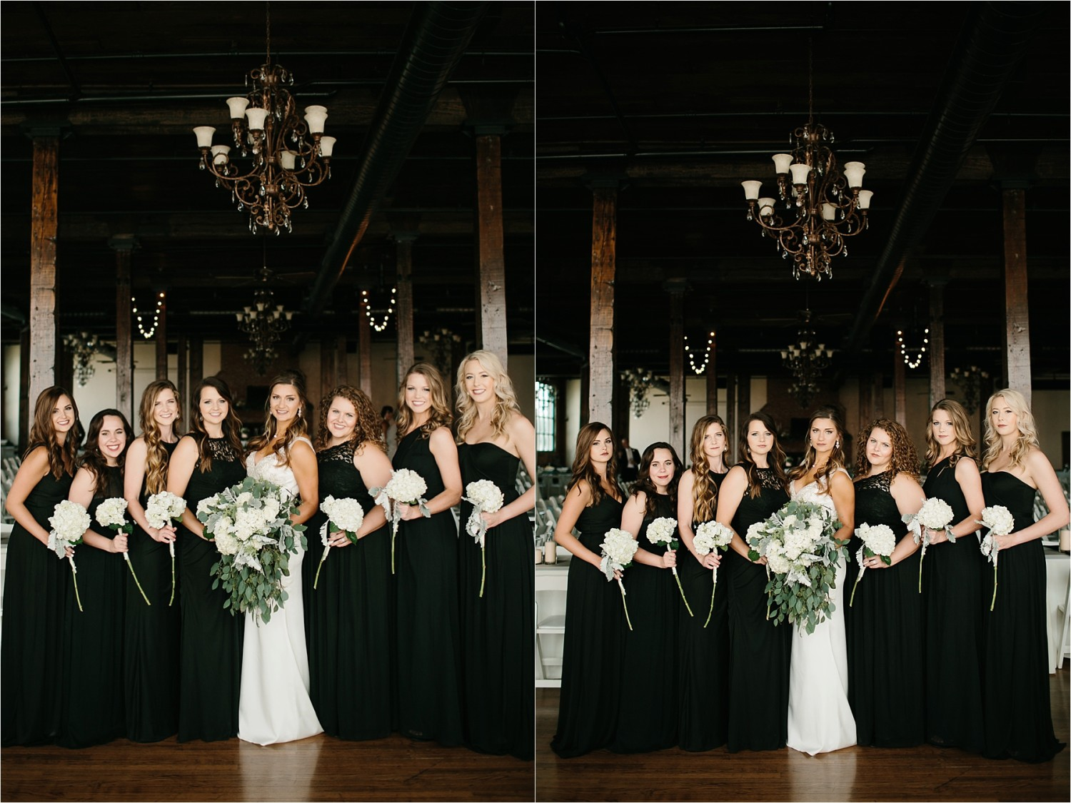 Holly + Jordan __ a black, gold, and greenery organic wedding at The Phoenix Ballroom in Waco, TX by North Texas Wedding Photographer Rachel Meagan Photography __ 45