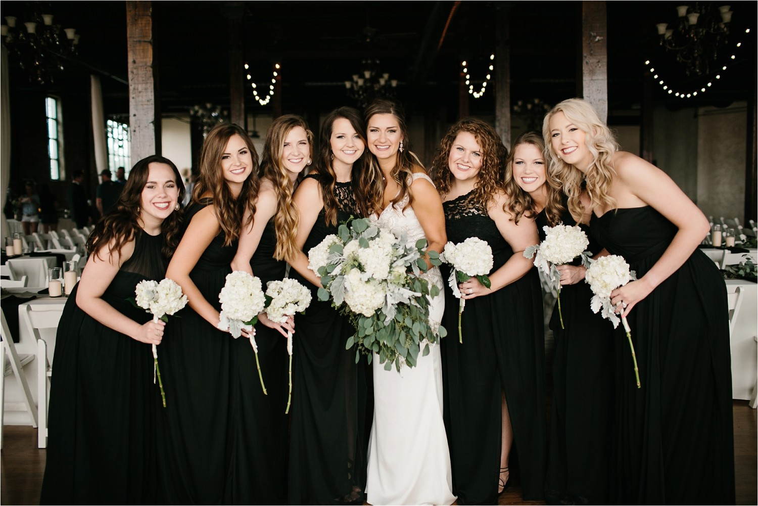 Holly + Jordan __ a black, gold, and greenery organic wedding at The Phoenix Ballroom in Waco, TX by North Texas Wedding Photographer Rachel Meagan Photography __ 47