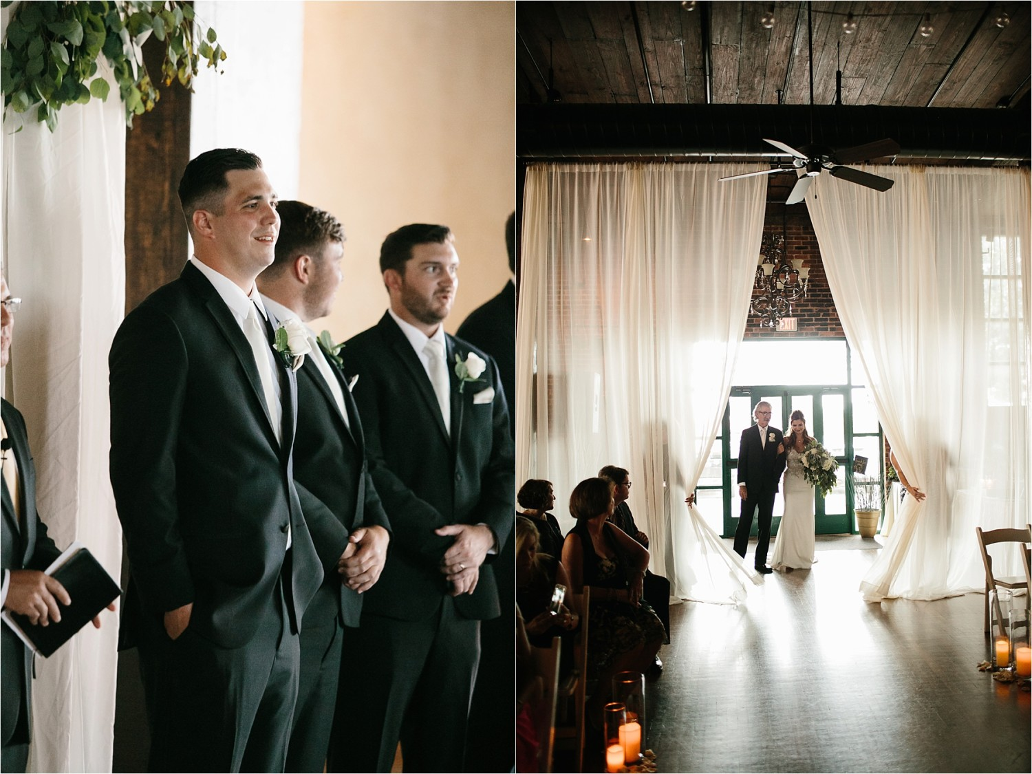 Holly + Jordan __ a black, gold, and greenery organic wedding at The Phoenix Ballroom in Waco, TX by North Texas Wedding Photographer Rachel Meagan Photography __ 58