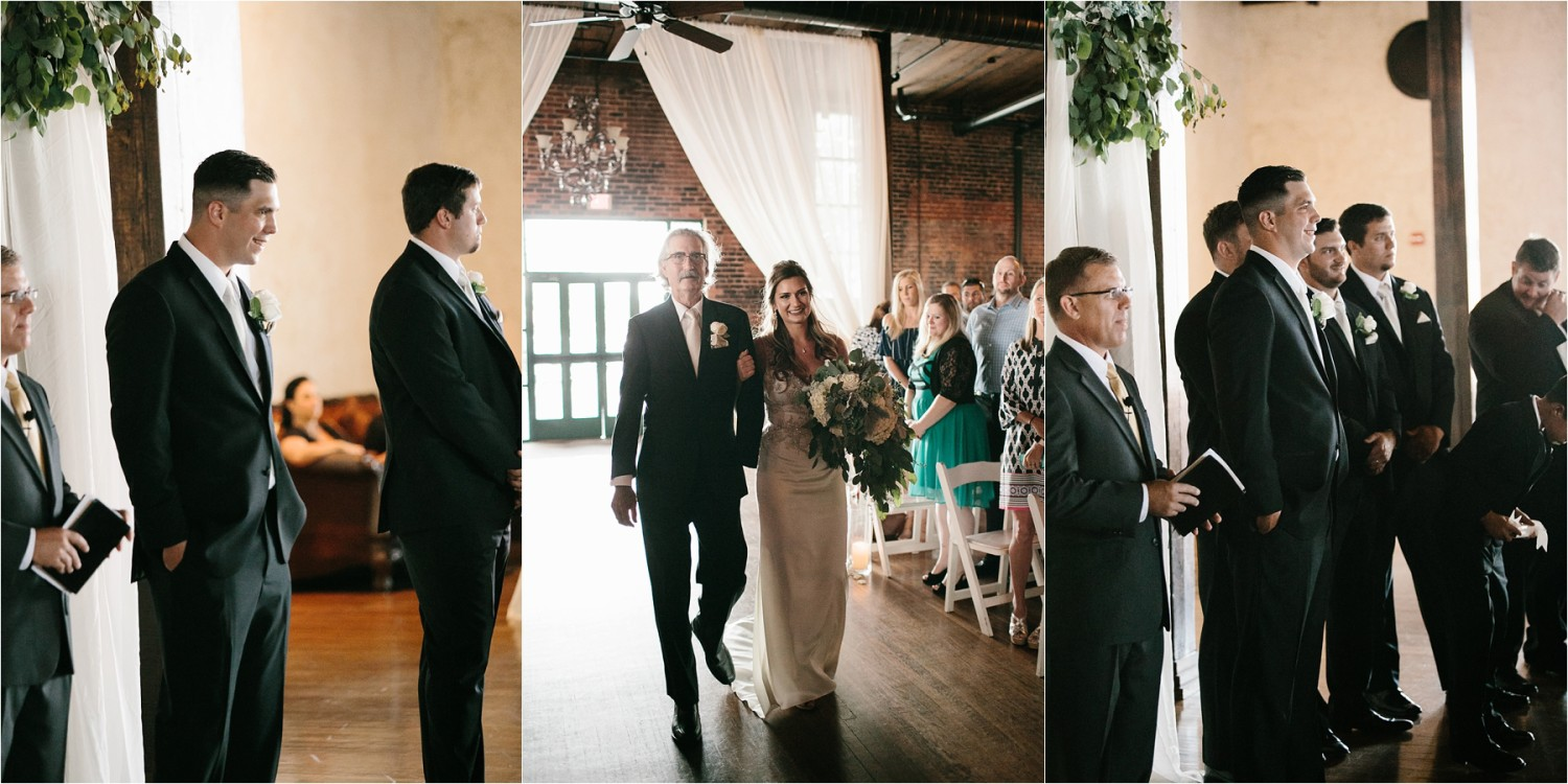Holly + Jordan __ a black, gold, and greenery organic wedding at The Phoenix Ballroom in Waco, TX by North Texas Wedding Photographer Rachel Meagan Photography __ 59