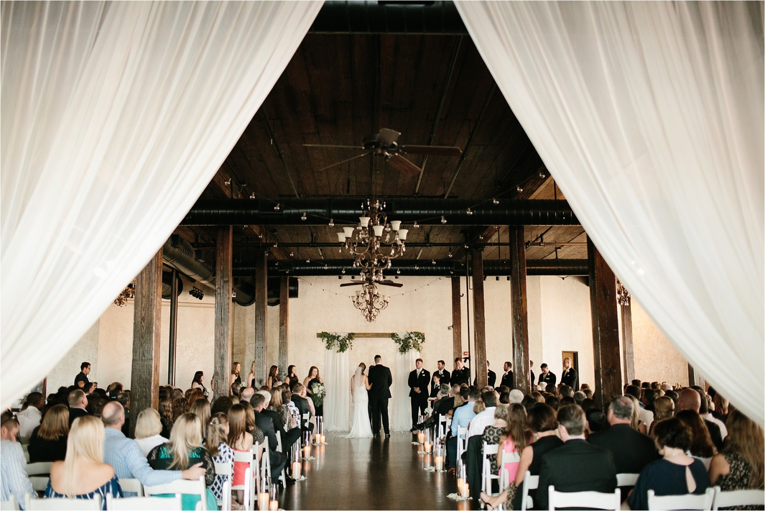 Holly + Jordan __ a black, gold, and greenery organic wedding at The Phoenix Ballroom in Waco, TX by North Texas Wedding Photographer Rachel Meagan Photography __ 60