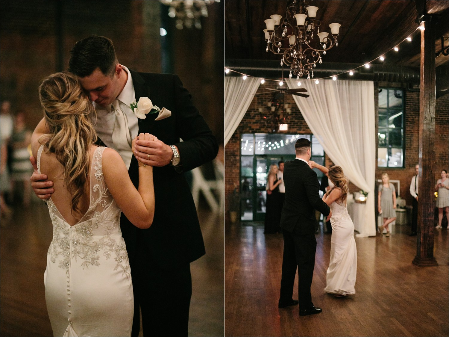 Holly + Jordan __ a black, gold, and greenery organic wedding at The Phoenix Ballroom in Waco, TX by North Texas Wedding Photographer Rachel Meagan Photography __ 67