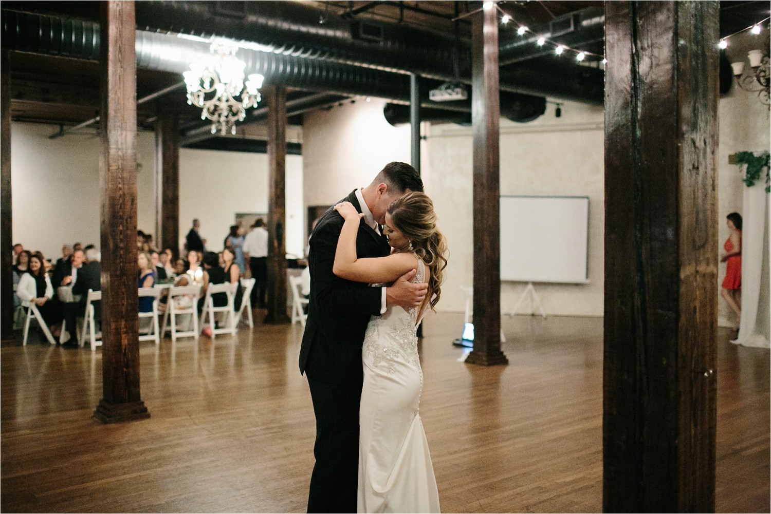 Holly + Jordan __ a black, gold, and greenery organic wedding at The Phoenix Ballroom in Waco, TX by North Texas Wedding Photographer Rachel Meagan Photography __ 68