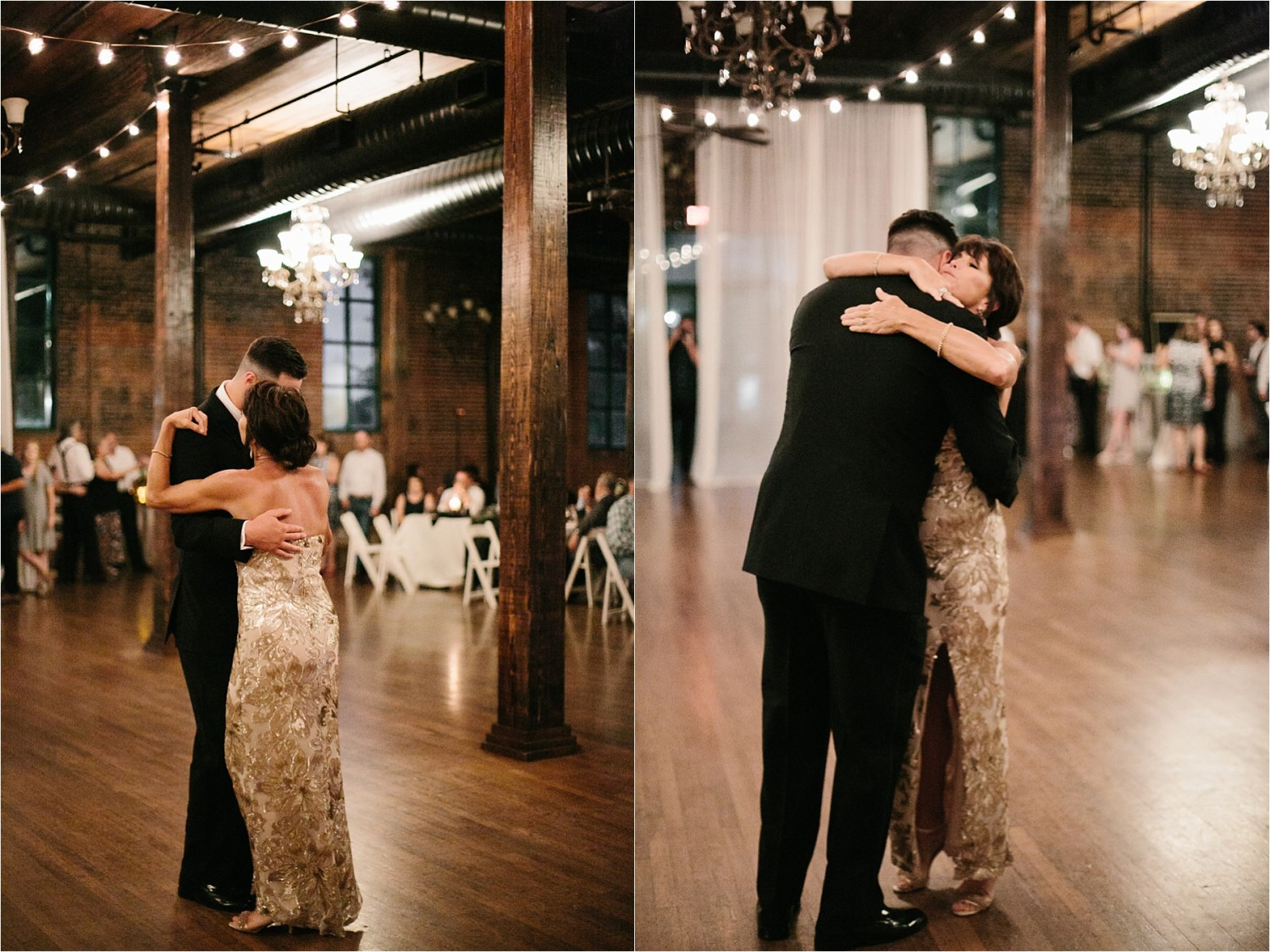Holly + Jordan __ a black, gold, and greenery organic wedding at The Phoenix Ballroom in Waco, TX by North Texas Wedding Photographer Rachel Meagan Photography __ 70