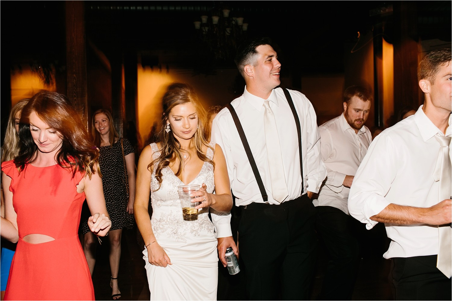 Holly + Jordan __ a black, gold, and greenery organic wedding at The Phoenix Ballroom in Waco, TX by North Texas Wedding Photographer Rachel Meagan Photography __ 75