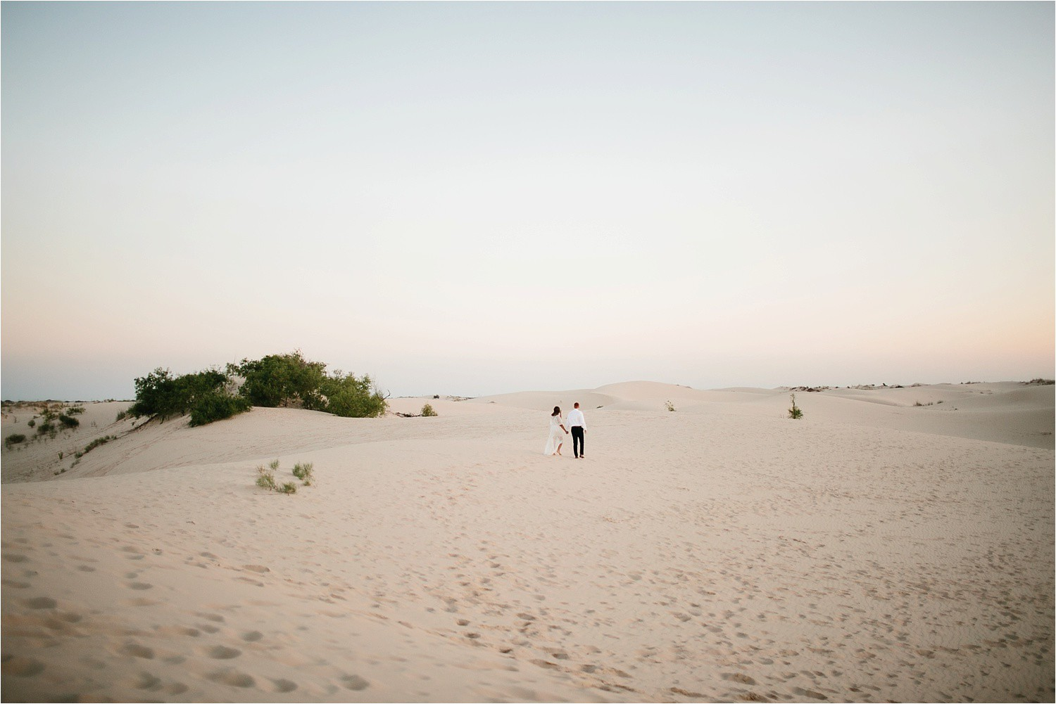 Lauren + Jacob __ a monahans sand dunes engagement session at sunrise by North Texas Wedding Photographer, Rachel Meagan Photography __ 02