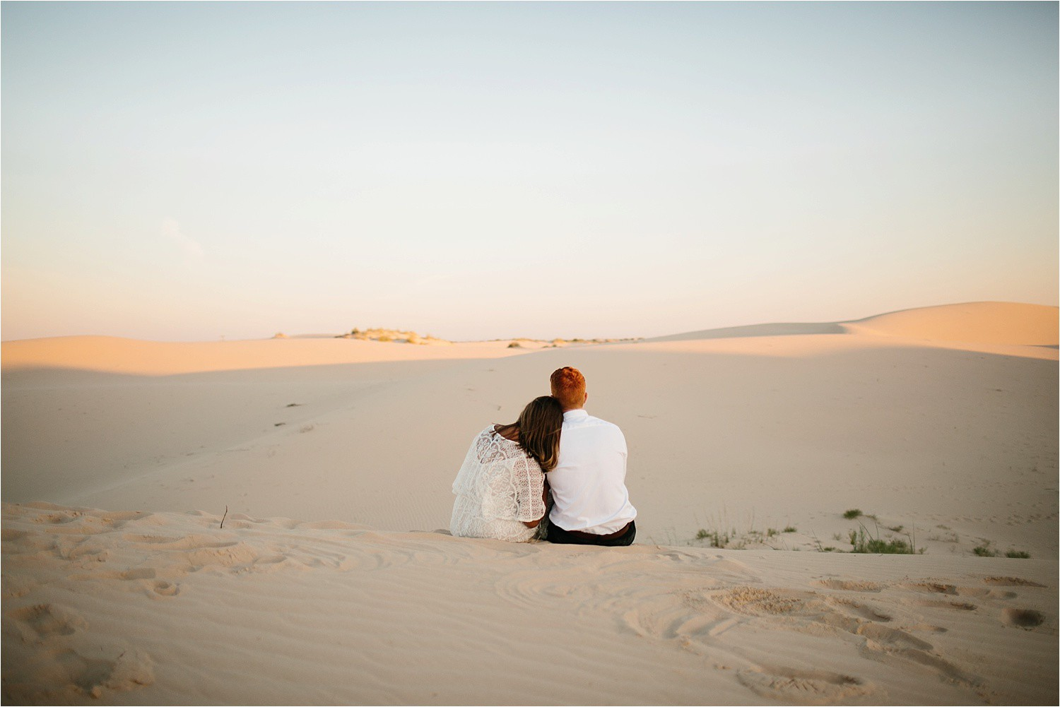 Lauren + Jacob __ a monahans sand dunes engagement session at sunrise by North Texas Wedding Photographer, Rachel Meagan Photography __ 13