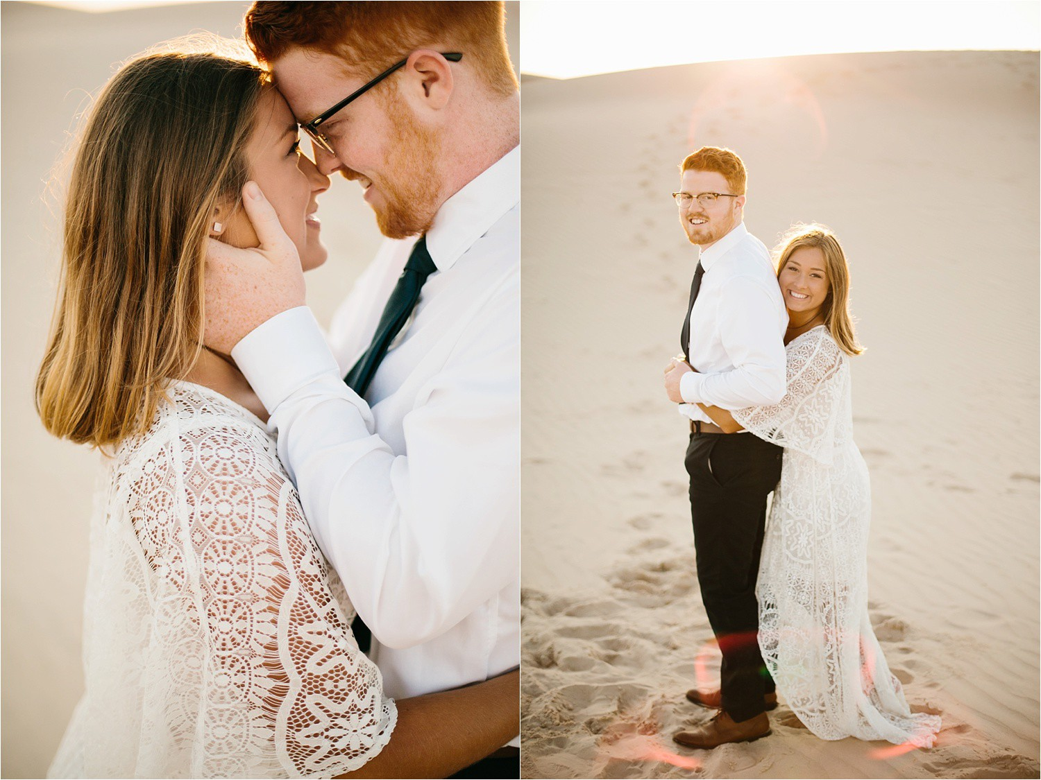 Lauren + Jacob __ a monahans sand dunes engagement session at sunrise by North Texas Wedding Photographer, Rachel Meagan Photography __ 19