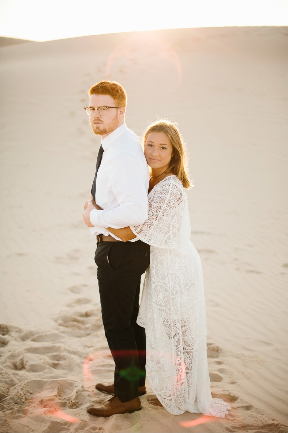 Lauren + Jacob __ a monahans sand dunes engagement session at sunrise by North Texas Wedding Photographer, Rachel Meagan Photography __ 20