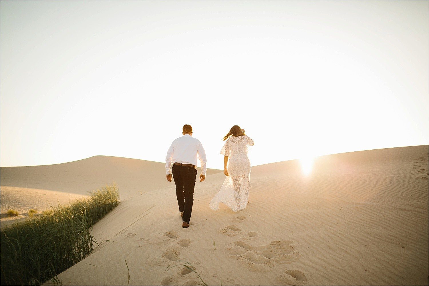 Lauren + Jacob __ a monahans sand dunes engagement session at sunrise by North Texas Wedding Photographer, Rachel Meagan Photography __ 23