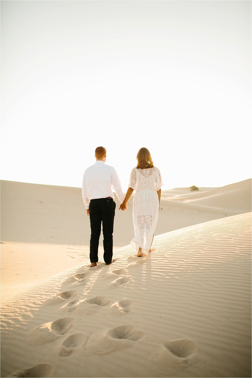 Lauren + Jacob __ a monahans sand dunes engagement session at sunrise by North Texas Wedding Photographer, Rachel Meagan Photography __ 24