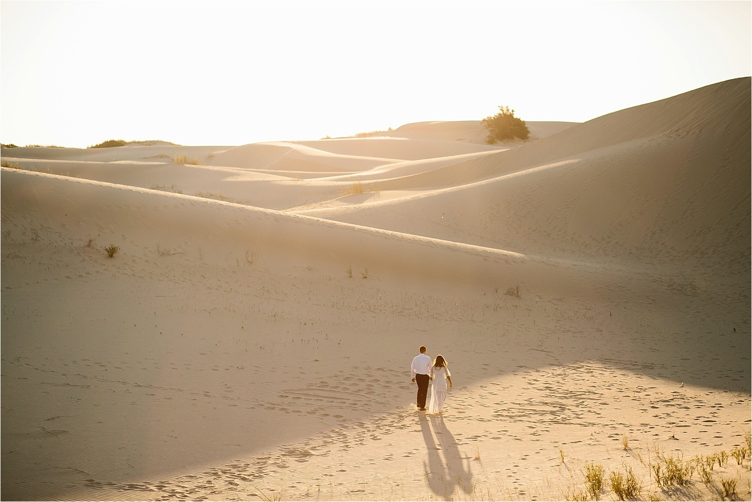 Lauren + Jacob __ a monahans sand dunes engagement session at sunrise by North Texas Wedding Photographer, Rachel Meagan Photography __ 25
