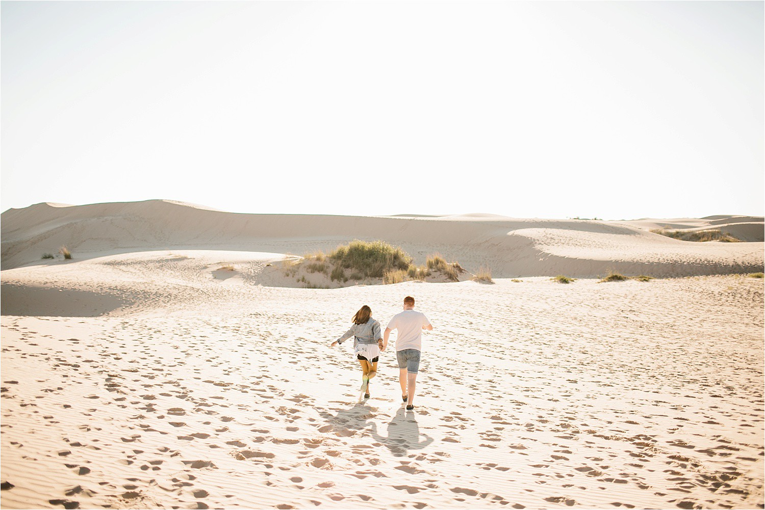 Lauren + Jacob __ a monahans sand dunes engagement session at sunrise by North Texas Wedding Photographer, Rachel Meagan Photography __ 37
