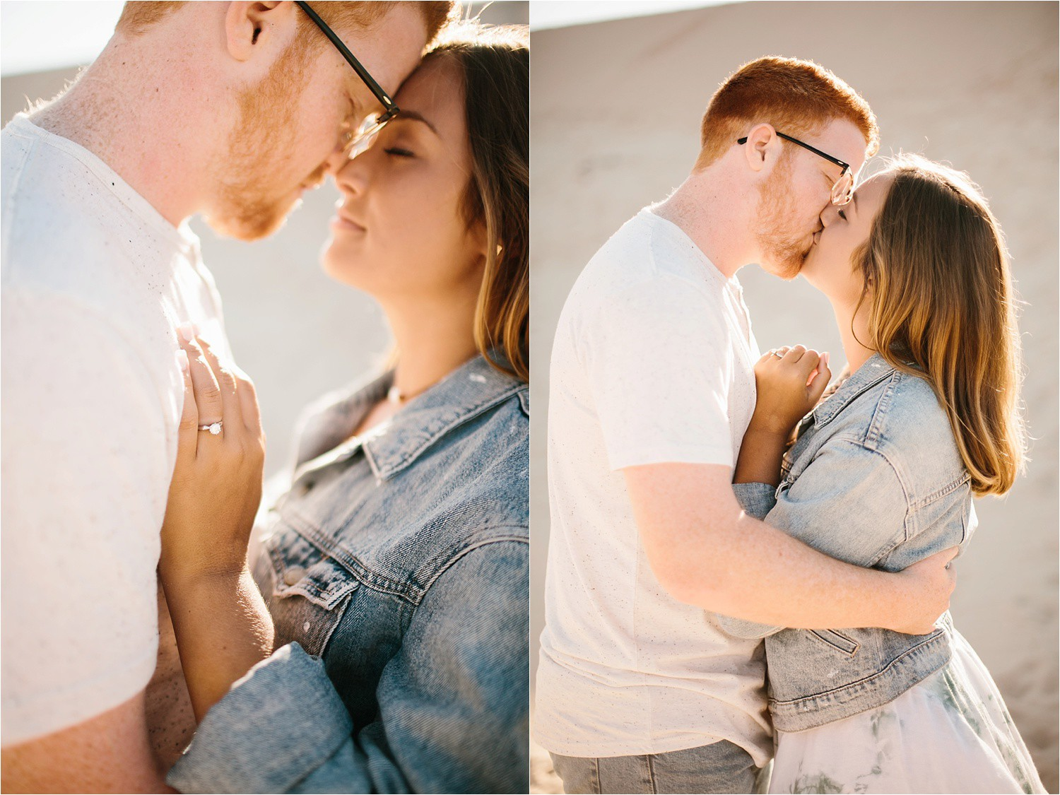 Lauren + Jacob __ a monahans sand dunes engagement session at sunrise by North Texas Wedding Photographer, Rachel Meagan Photography __ 43