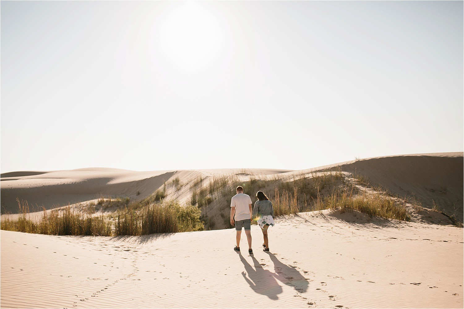 Lauren + Jacob __ a monahans sand dunes engagement session at sunrise by North Texas Wedding Photographer, Rachel Meagan Photography __ 47
