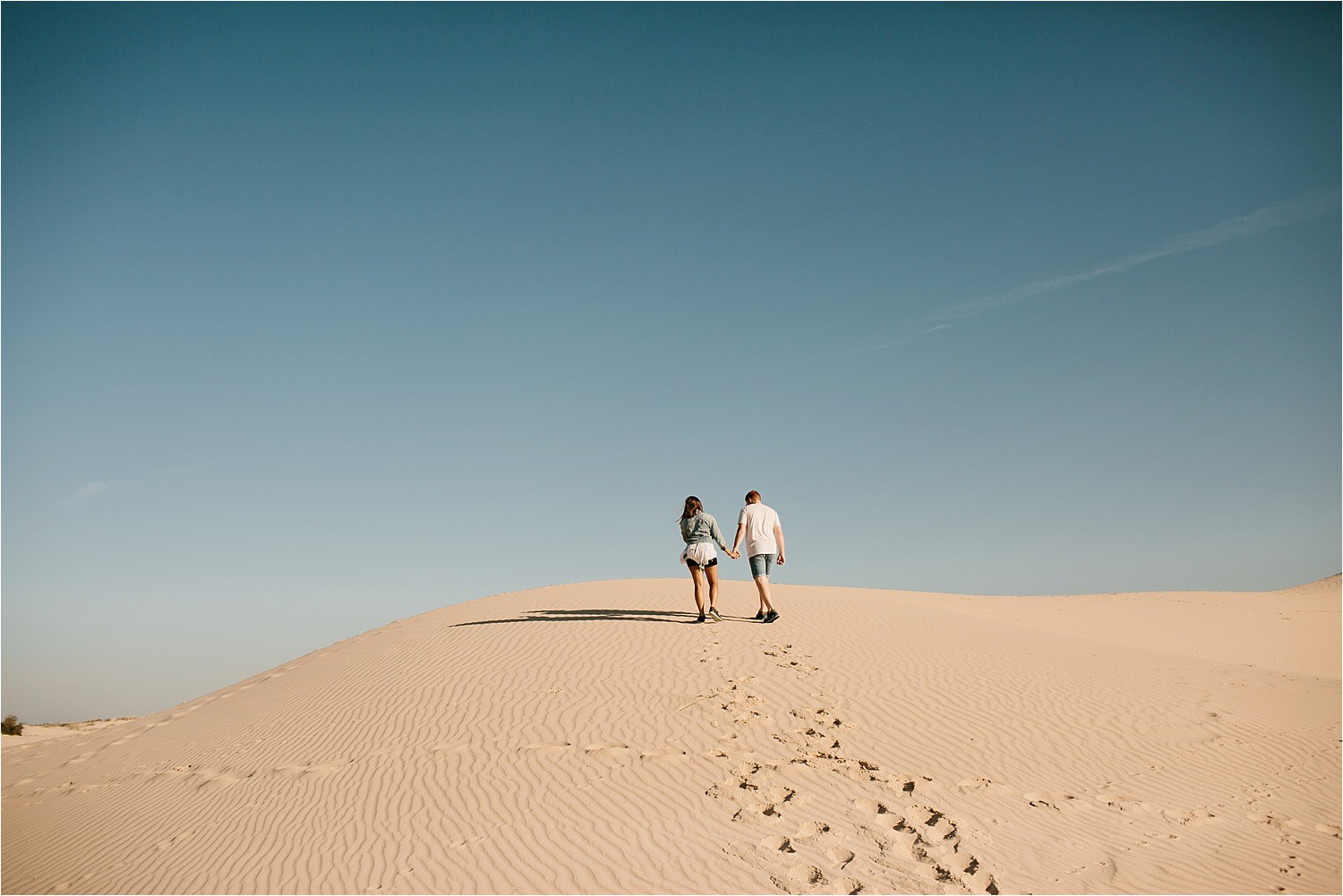 Lauren + Jacob __ a monahans sand dunes engagement session at sunrise by North Texas Wedding Photographer, Rachel Meagan Photography __ 49
