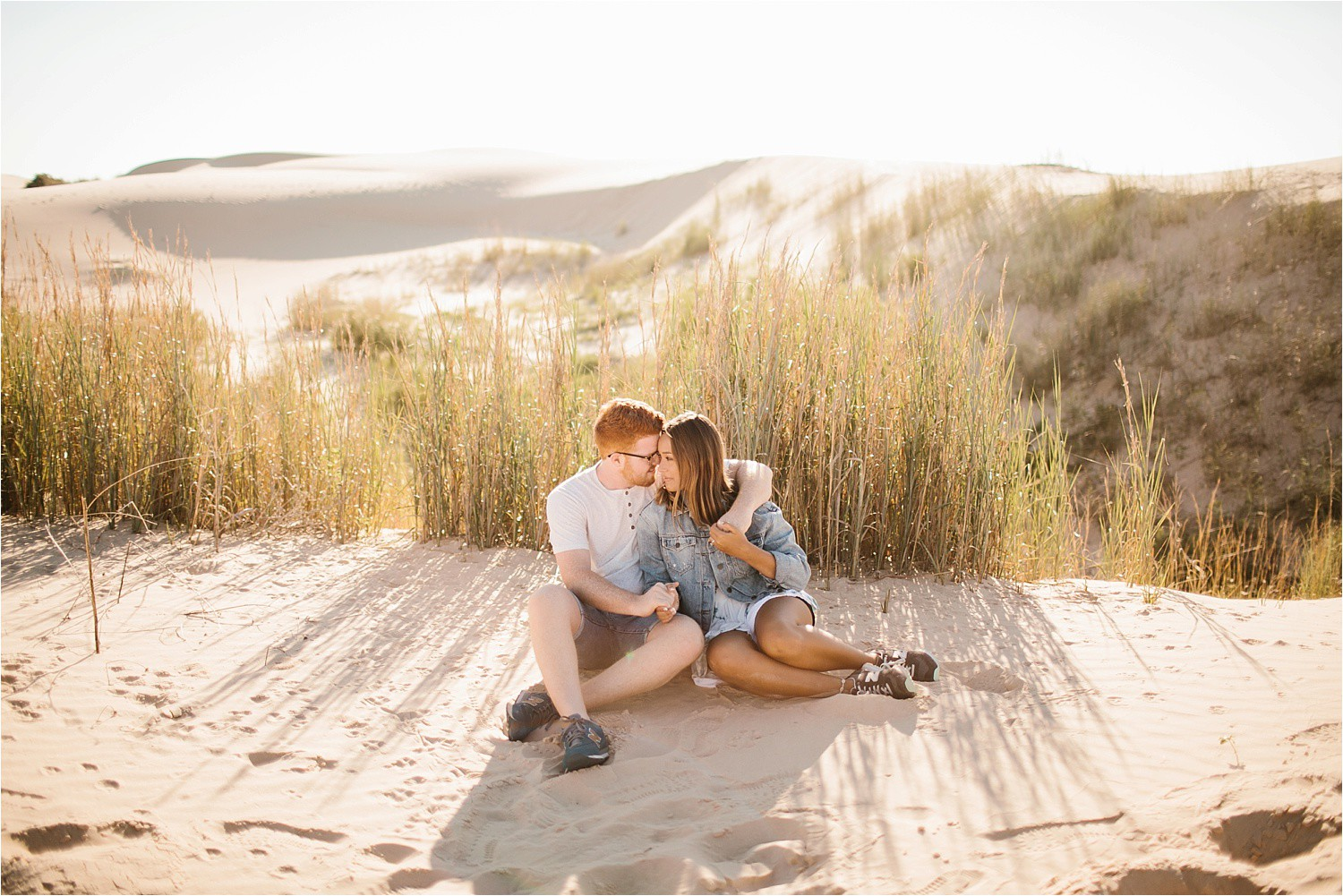 Lauren + Jacob __ a monahans sand dunes engagement session at sunrise by North Texas Wedding Photographer, Rachel Meagan Photography __ 55