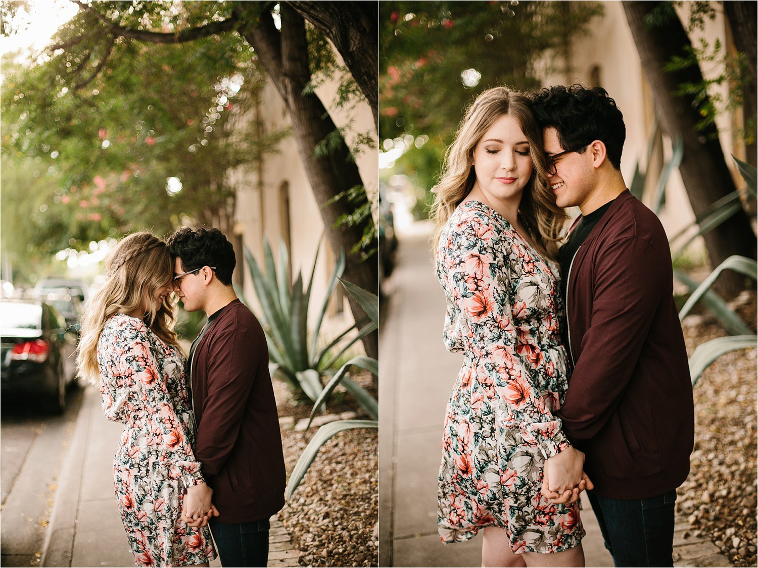 Romantic Austin, Texas Engagement Session with outfit inspiration + flowy red dress from Lulu's at Mckinney Falls State Park by North Texas Wedding Photographer, Rachel Meagan Photography __ 03