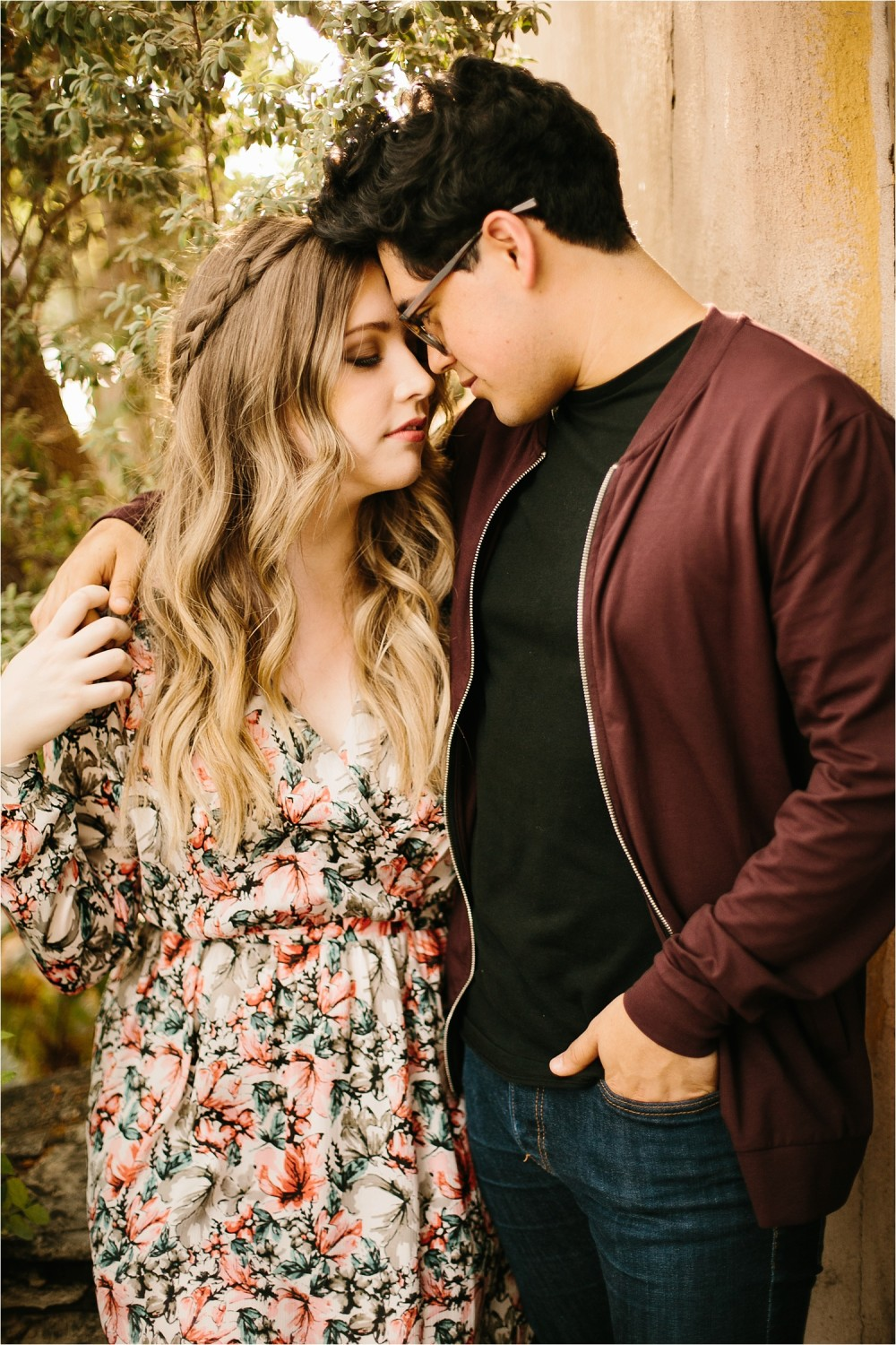 Romantic Austin, Texas Engagement Session with outfit inspiration + flowy red dress from Lulu's at Mckinney Falls State Park by North Texas Wedding Photographer, Rachel Meagan Photography __ 10