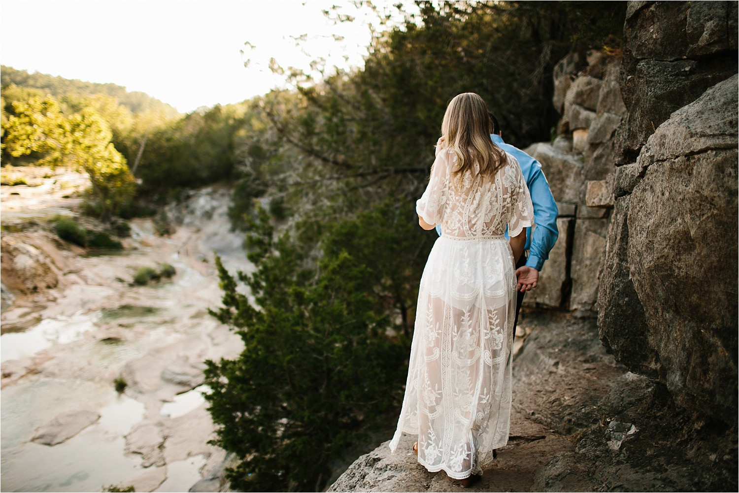 a romantic, adventurous engagement session at Turner Falls in Oklahoma by North Texas Wedding Photographer, Rachel Meagan Photography _ 06