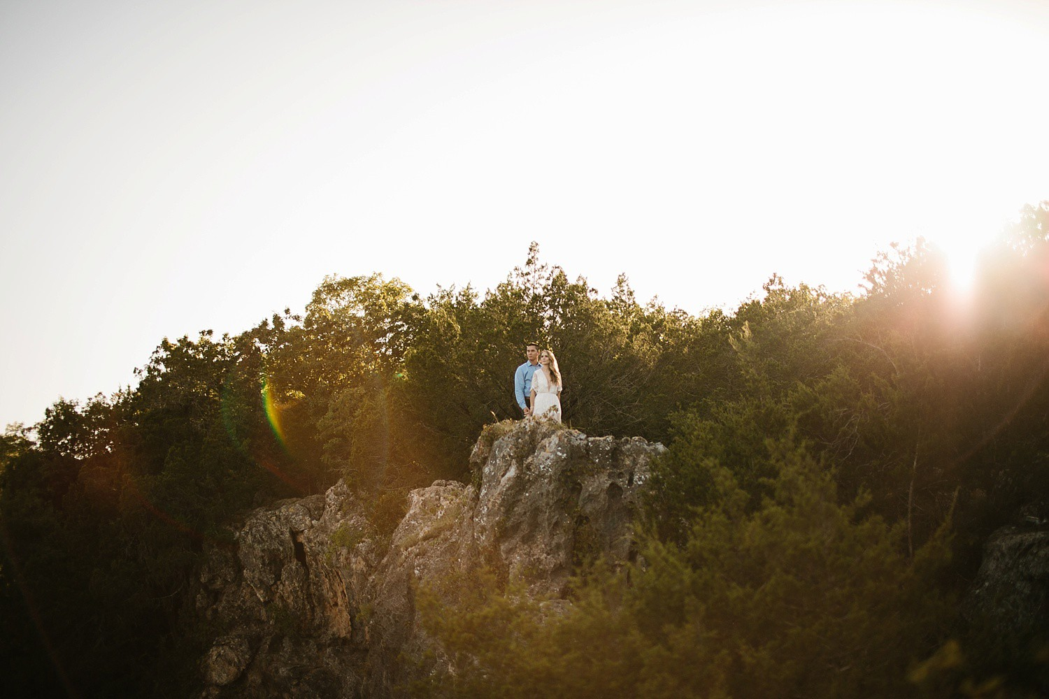 a romantic, adventurous engagement session at Turner Falls in Oklahoma by North Texas Wedding Photographer, Rachel Meagan Photography _ 16