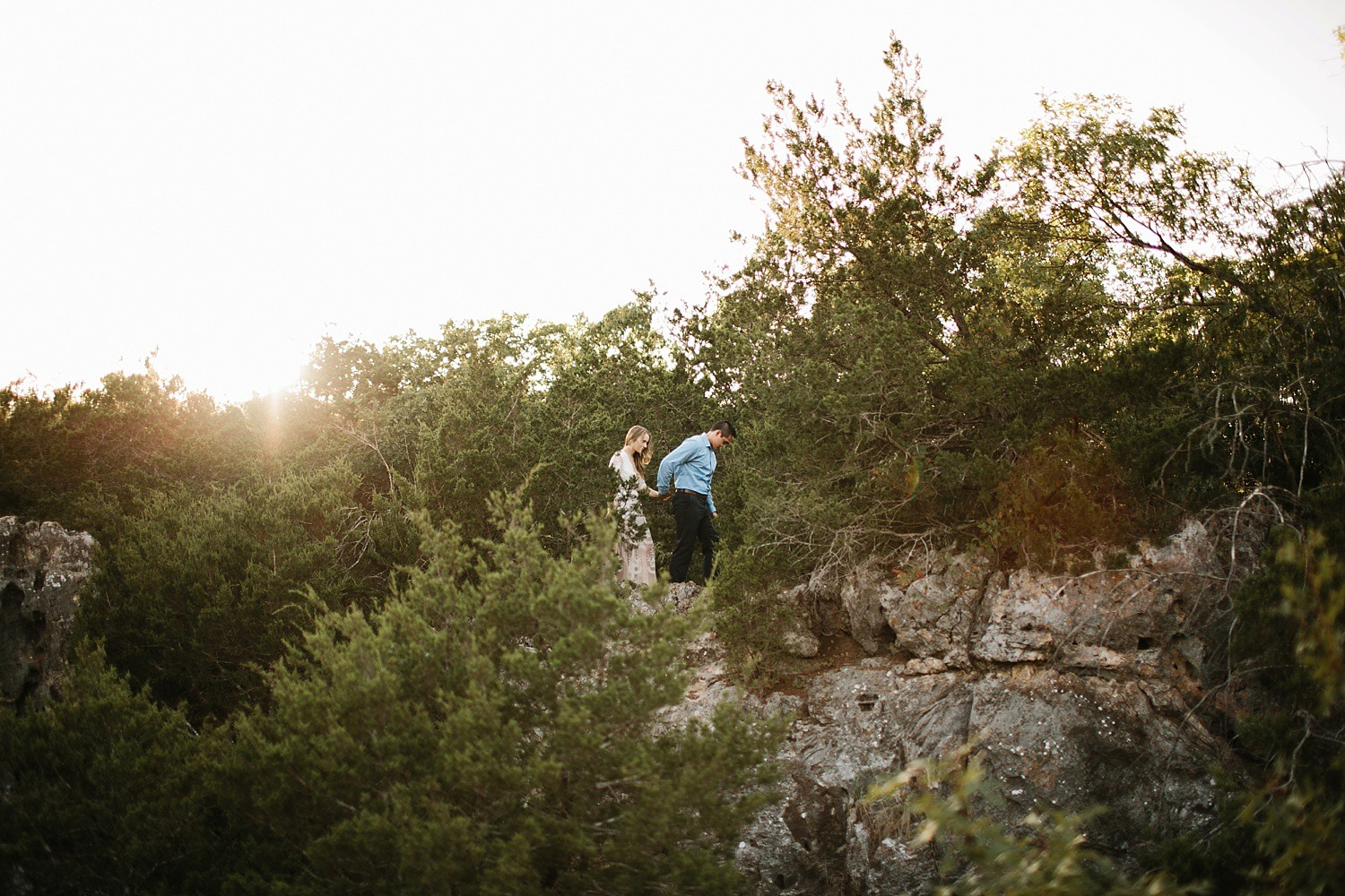 a romantic, adventurous engagement session at Turner Falls in Oklahoma by North Texas Wedding Photographer, Rachel Meagan Photography _ 18