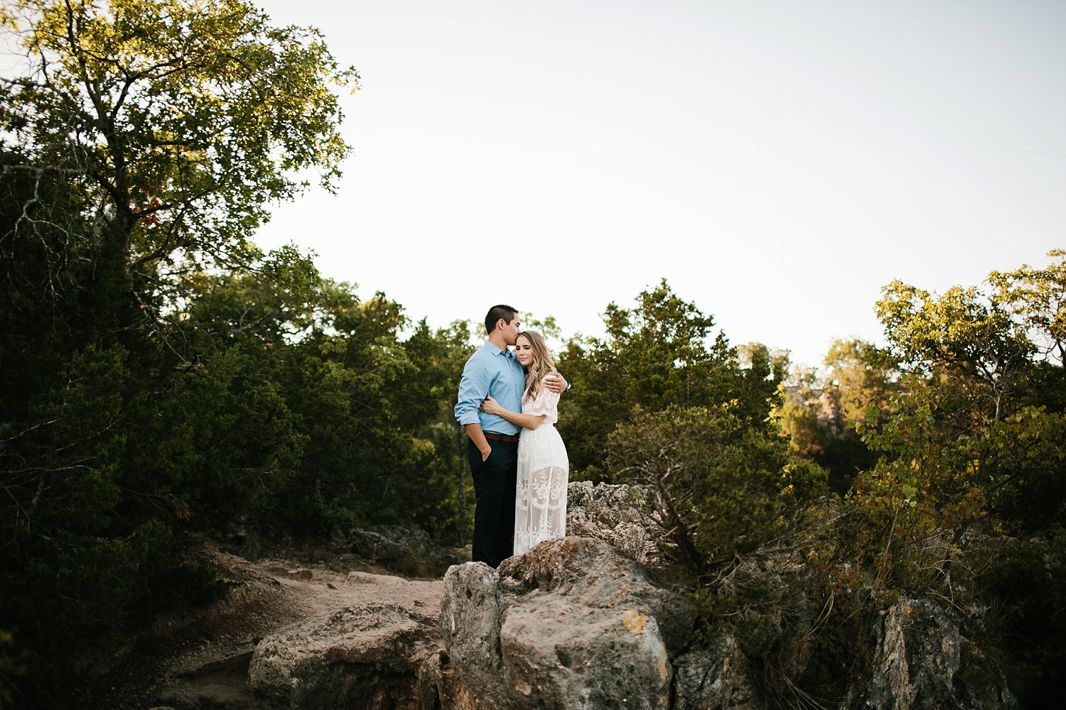 a romantic, adventurous engagement session at Turner Falls in Oklahoma by North Texas Wedding Photographer, Rachel Meagan Photography _ 20