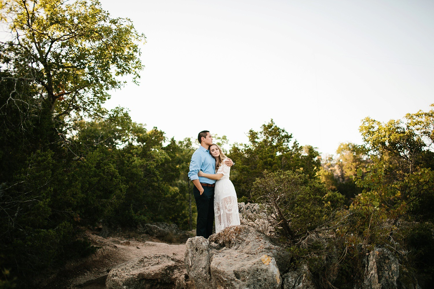 a romantic, adventurous engagement session at Turner Falls in Oklahoma by North Texas Wedding Photographer, Rachel Meagan Photography _ 21
