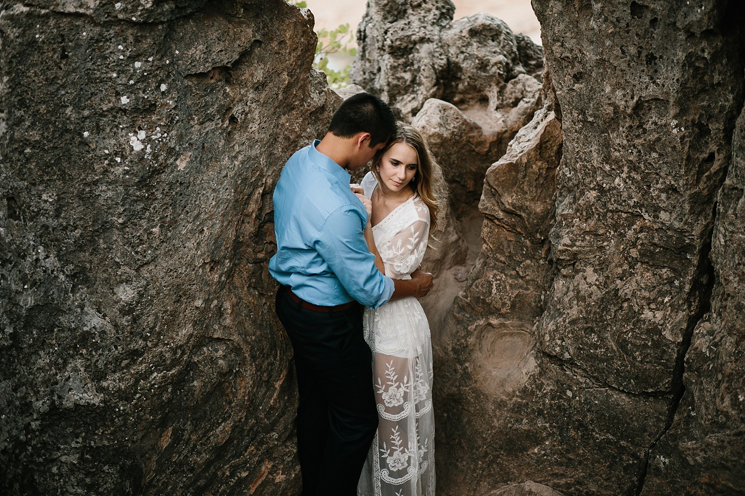 a romantic, adventurous engagement session at Turner Falls in Oklahoma by North Texas Wedding Photographer, Rachel Meagan Photography _ 28