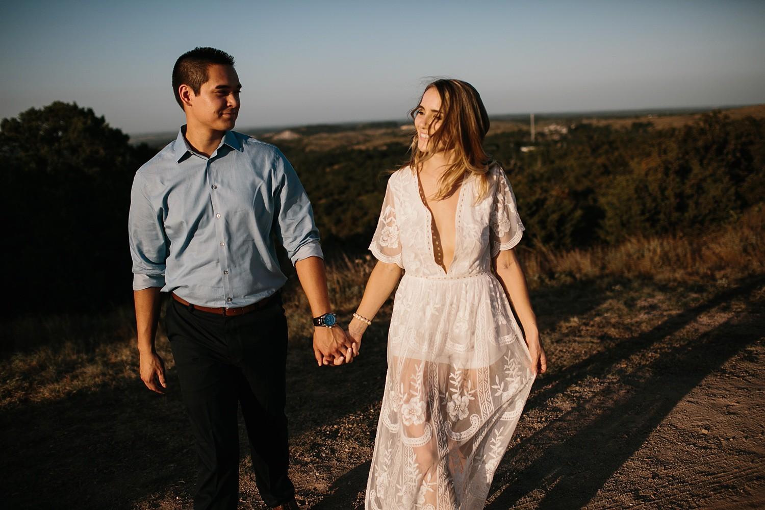 a romantic, adventurous engagement session at Turner Falls in Oklahoma by North Texas Wedding Photographer, Rachel Meagan Photography _ 32